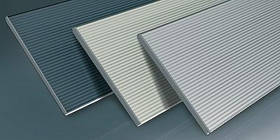Iso 40 Insulated Sectional Overhead Door Roller Shutters