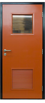 Flush Steel Doorsets