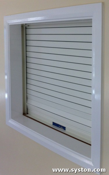 Fire Shutters - Flameshield 120 with 50mm flat laths