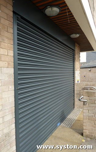 Steel Rolling Shutter with 75mm laths