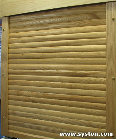 Timber Shutters T234 in White Ash