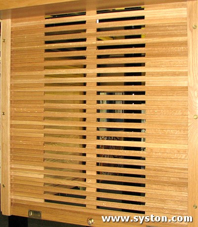 Timber Shutters T9134 in American White Oak