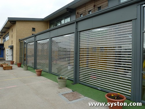 Syston Doors Transparent Rolling Shutters Picture Gallery
